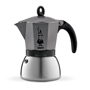 Bialetti 6 Cup Moka Induction Stove top Espresso Coffee Maker by Bialetti