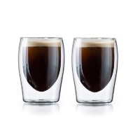 Double Wall Thermo Insulatedティー&コーヒーGlasses – のセット2(3オンス)