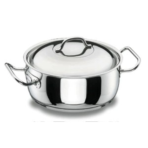 Lacor 72024Profesional Casserole with Lid 24cm。