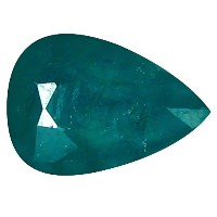 Grandidierite ルーズジェームズ 0.64 ct Pear Cut (7 x 5 mm) Unheated / Untreated Greenish Blue Grandidierite...