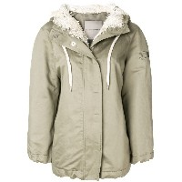 Ermanno Scervino zip-up lined parka - グリーン