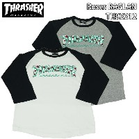 スラッシャー THRASHER Roses RAGLAN TH92212 thrasher56
