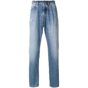 Eleventy faded slim fit jeans - ブルー
