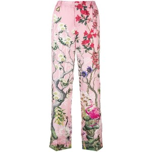 F.R.S For Restless Sleepers floral pyjama trousers - ピンク&パープル