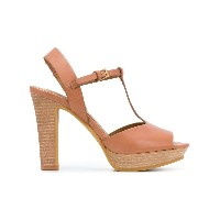 See By Chloé open-toe platform sandals - ブラウン