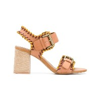 See By Chloé Romy City whipstitch sandals - ブラウン