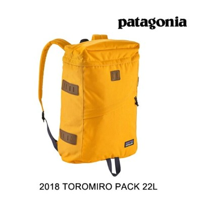 2018 PATAGONIA パタゴニア バックパック TOROMIRO PACK 22L RGBY RUGBY YELLOW