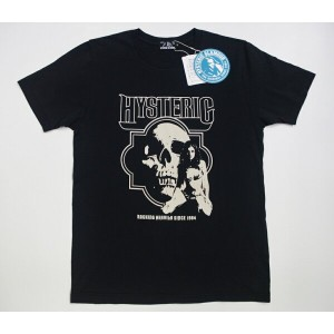 HYSTERIC GLAMOURヒステリックグラマー ROCKING HEAVILY pt T-SH(02181CT13)
