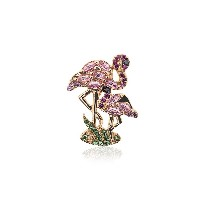 Yvonne Léon 18k gold flamingo earring with gems - メタリック