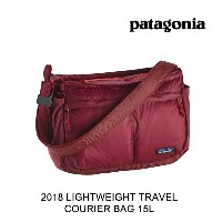 2018 PATAGONIA パタゴニア バッグ ポーチ LIGHTWEIGHT TRAVEL COURIER 15L OXDR OXIDE RED