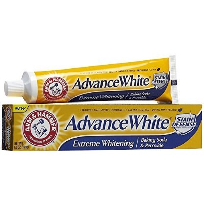 Arm & Hammer Advance White, Baking Soda & Peroxide, Size: 6 OZ by CHURCH & DWIGHT [並行輸入品]