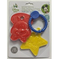 Disney Baby 3 Pc Mickey Mouse Ring Charms & Teether Set by Disney