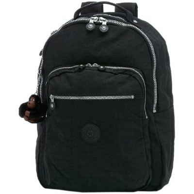 Kipling Seoul Large Backpack With Laptop Protection ブラック