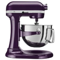KitchenAid スタンドミキサー プロ6シリーズ KP26M1XPB Professional 600 Series 6-Quart Stand Mixer, PlumBerry Purple...