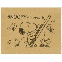 SNOOPY with Music スヌーピー SCLOTH-FG 楽器用クロス