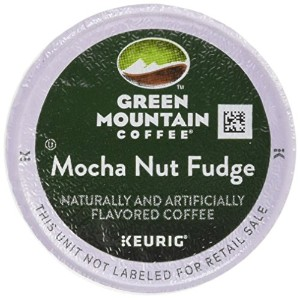 Green Mountain Coffee Mocha Nut Fudge, K-Cup Portion Pack for Keurig Brewers 24-Count by Green...