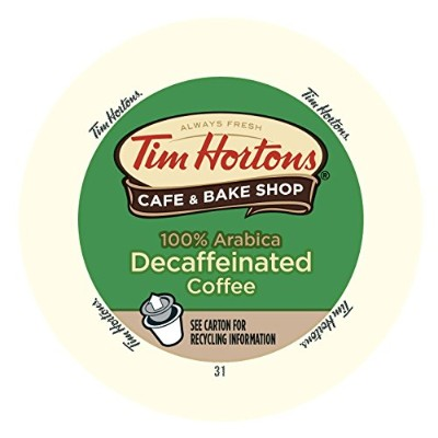 Tim Hortons Single Serve Decaffeinated Coffee Cups (24-Count) by Tim Hortons
