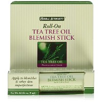 Herbal Authority Roll-on Tea Tree Oil Blemish Stick 0.3oz by Good N Natural [並行輸入品]