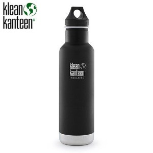 Klean Kanteen Classic Insulated 20-Ounce Stainless Steel Bottle With Loop Cap [並行輸入品]