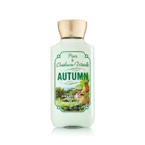 Bath & Body Works Pear & Cashmere Woods 'Autumn' Body Lotion 8 Fl Oz/ 236 Ml by Bath & Body Works ...