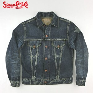 No.SC11901H SUGAR CANE シュガーケーン14.oz.FIBER DENIMLONE STAR JACKET