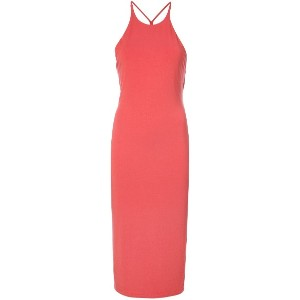 T By Alexander Wang sleeveless fitted dress - レッド