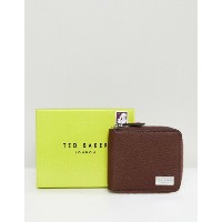 テッドベーカー メンズ 財布 アクセサリー Ted Baker Current Zip Around Wallet in Leather Brown