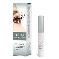 (まつげ美容液) FEG Eyelash Enhancer Eye Lash Rapid Growth Serum Liquid 100% Original 3ml-  polo