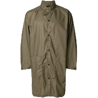 N. Hoolywood buttoned coat - ブラウン