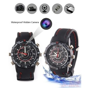 Waterproof 8GB Spy Watch DVR Video Recorder Pinhole Hidden Mini Camera Camcorder spy camera Mini 8GB