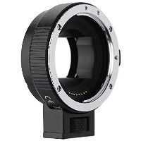 Andoer オートフォーカス AF EF-NEXII アダプターリング for Canon EF EF-S レンズ to use for Sony NEX E マウント3/3N/5N/5R/7...