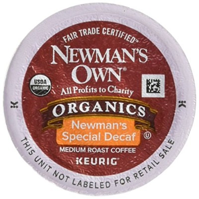 Green Mountain Coffee Newman's Special Decaf, K-Cup Portion Pack for Keurig K-Cup Brewers,...