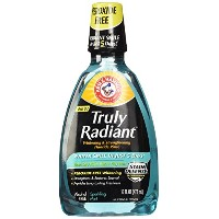 Arm & Hammer Truly Radiant Whitening & Strengthening Sparkling Mint Fluoride Rinse, 16 Fl Oz by Arm...