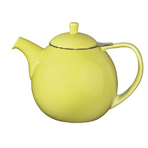 FORLIFEカーブ45-ounce Teapot with Infuser 45-Ounce / 1330 ml グリーン F388LME