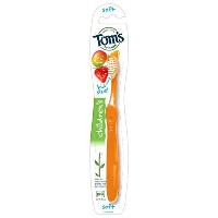 Tom's of Maine Children's Dye-Free Toothbrush, Soft by Tom's of Maine