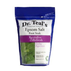 Dr. Teal's Epsom Salt Foot Soak, Cooling Peppermint, 32 Ounce by Dr. Teal's
