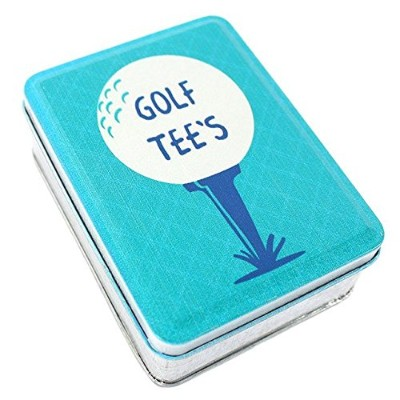 Golf Tee's Metal Tin