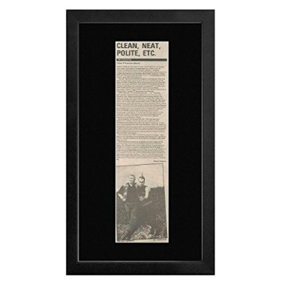 Exploited - Troops Of Tomorrow - Album Review 1982 Framed Mini Poster - 55x27.5cm