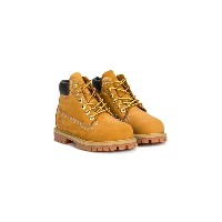 Timberland Kids lace-up boots - ブラウン