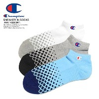 (チャンピオン)CHAMPION SNEAKER IN 3P SOCKS -#997 ASSORT- cmscm406 997ASSORT M(25~27cm)