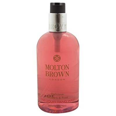 Molton Brown Fine Liquid Hand Wash - Rhubarb & Rose 10oz (300ml)