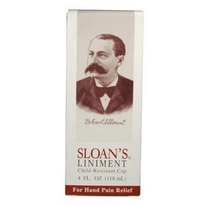 Lee Pharmaceuticals Sloan's Liniment, 4-Ounce. Boxes by Lee Pharmaceuticals