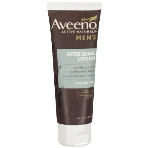 Aveeno Men's After Shave Lotion, Fragrance Free, 3.4 fl oz by Aveeno