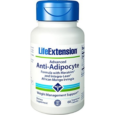 Advanced Anti-adipocyte with Adipostat and Integra-lean African Mango Irvingia 60 Caps- 2 Bottle...