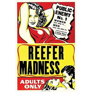 "Buyenlarge 0 – 587 – 28648 – 2-p1218 "" Reefer Madness ""紙ポスター、12 "" x 18 """