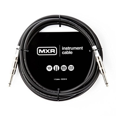 MXR DCIS10 スタンダード ケーブル 10 フィート ( 3 メートル )  S/S Standard Instrument Cable