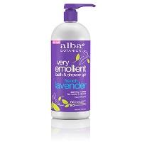 Alba Botanica, Very Emollient, Bath & Shower Gel, French Lavender, 32 fl oz (950 ml)
