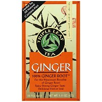 TEA GINGER CS 6/20 BAG by Triple Leaf Tea