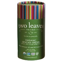 Two Leaves and a Bud Organic Sencha Green Loose Leaf Tea, 3.5 oz by Two Leaves and a Bud