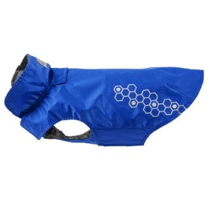 RC Pet Products Venture Shell Reflective Water Resistant Dog Coat Size 8 Electric Blue [並行輸入品]